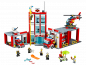 Preview: LEGO City 60110 Fire Station builded