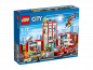 Preview: LEGO City 60110 Fire Station box frontsite