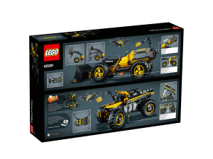 lego technic 42081 volvo concept wheel loader zeux. Black Bedroom Furniture Sets. Home Design Ideas