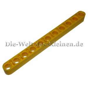LEGO® Technic Liftarm mit 11 Pin-Löchern helles Gelb (BR. YELLOW) - (4174709/4534912/6028107/32525)