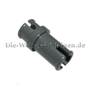 LEGO® Technic Connector Peg with knob 3/4 DARK STONE GREY (DK. ST. GREY) - (4211050/32002199/32002)