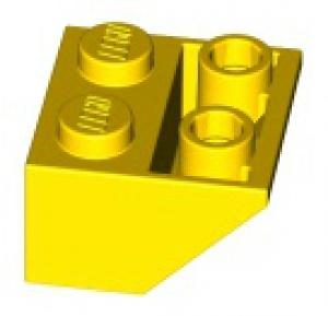 LEGO® Brick 2x2 angle 45° Bright Yellow - USED (366024)