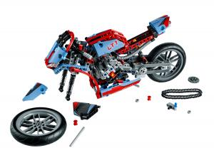 LEGO Technic 42036 Street Motorcycle decomposed
