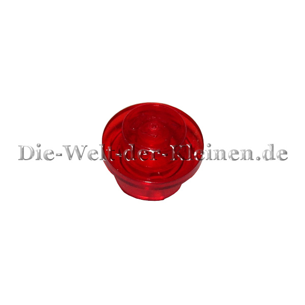 LEGO NEW // Clear 3005741 5 Red Parts 1x1 TR Round Plate