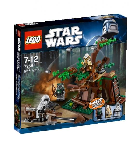 Startseite lego star wars™ lego star wars 7956 ewok attack