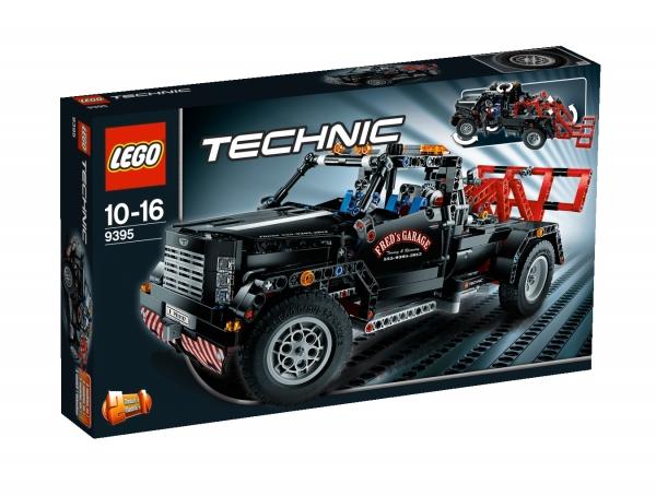 lego technic 9395 pickup abschleppwagen. Black Bedroom Furniture Sets. Home Design Ideas