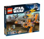 LEGO Star Wars 7962 Anakin's und Sebulba's Podracers Box